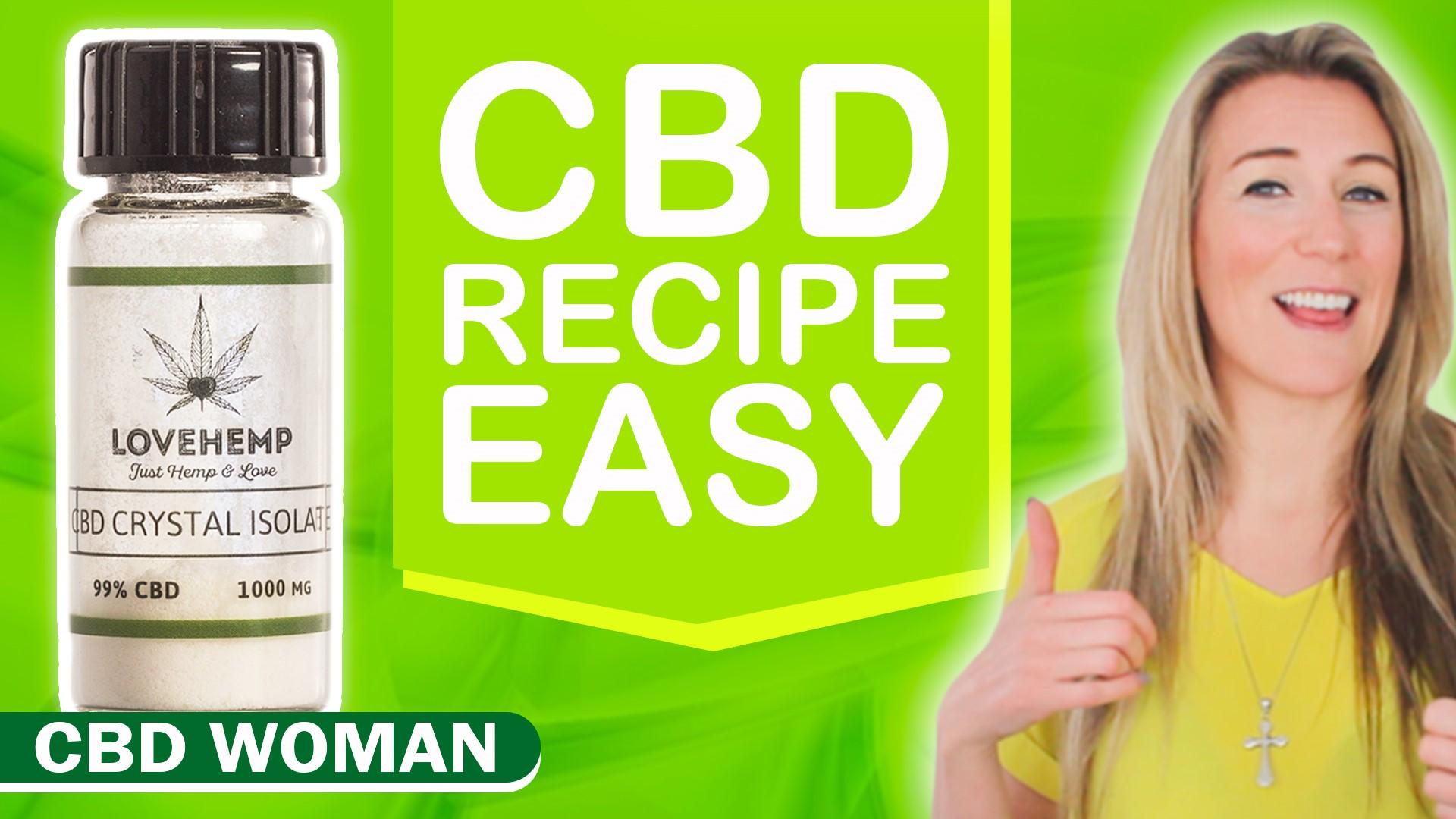 How to Make CBD Edibles -1 Easy Recipe